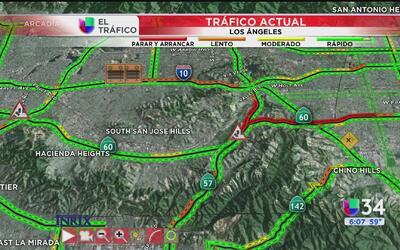 Reporte del tráfico: 3 de mayo