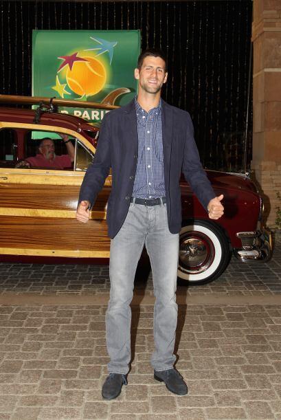 Novak Djokovic, de Serbia, tratará de mantener su buena racha de...