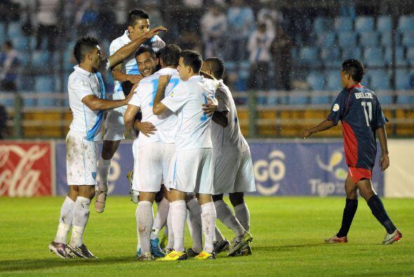 La selección de Guatemala parece que enfrenta a Guayana má...