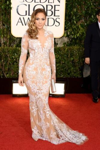 ¡Wow! Jennifer Lopez nos dejó con la boca abierta con tanta transparenci...