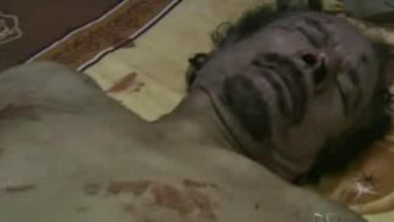 La muerte de Muamar Gadafi para el mundo