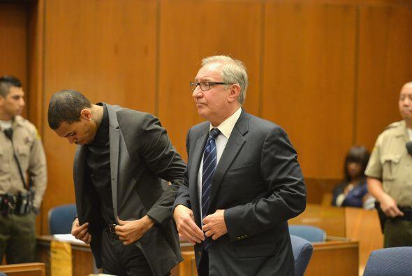 El juezJames R. Brandlin de la corte superior de Los Ángele...