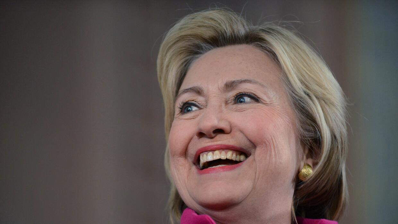 Hillary Clinton, candidata presidencial demócrata