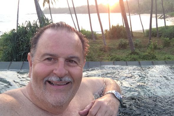 Raúl de Molina disfrutó unas extraordinarias vacaciones en la isla de Sr...