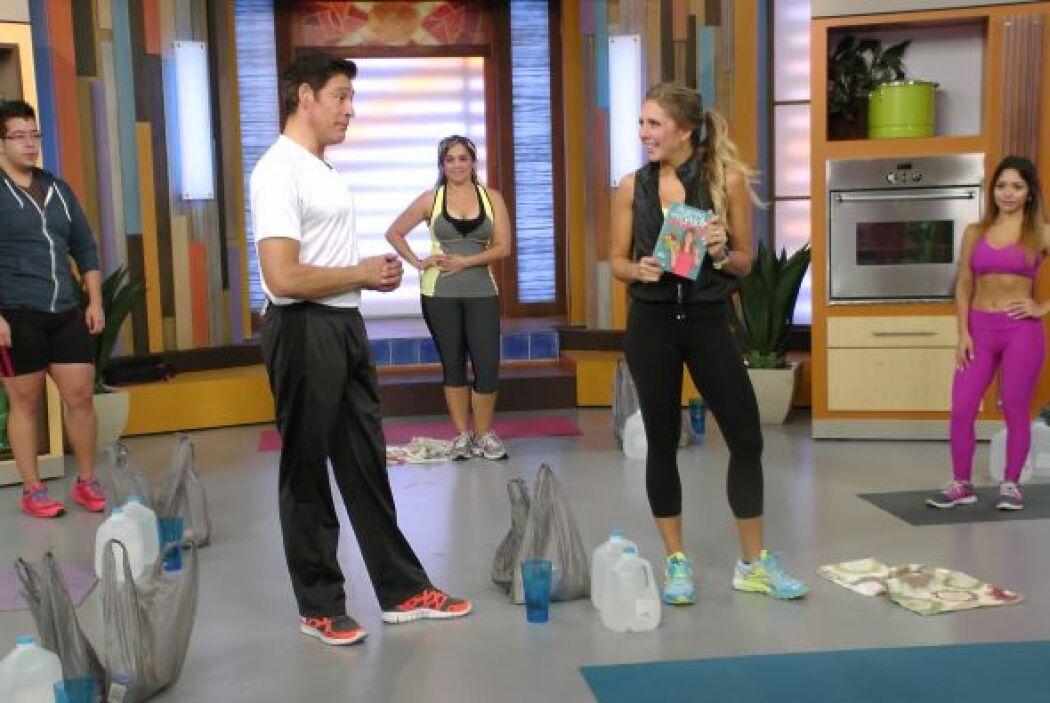 Además del ejercicio, la alimentación es primordial y Sascha te enseña c...