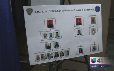 Arrestan a 17 por contrabando en Rikers Island