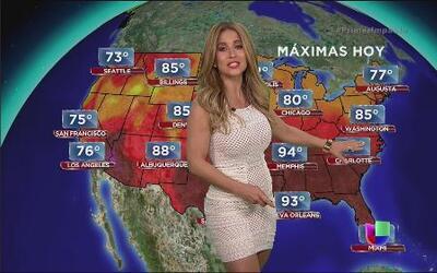 Se seca y se calienta casi todo el país con Jackie Guerrido