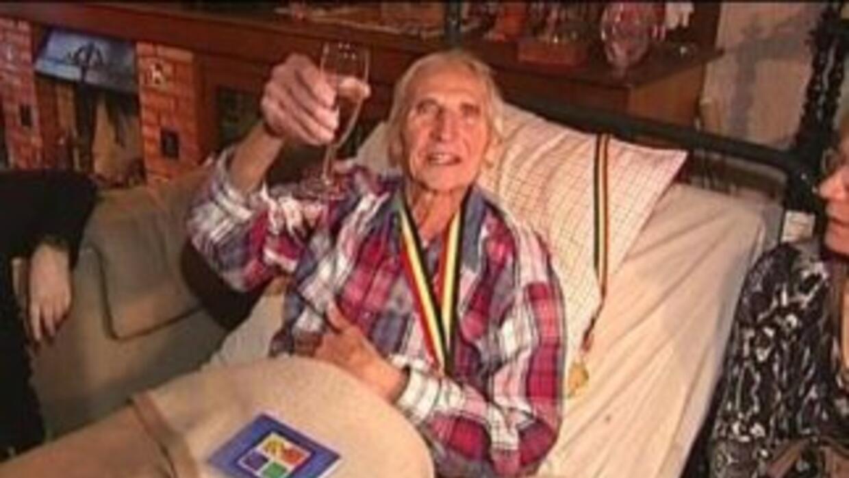 Emiel Pauwels se sometió a la eutanasia a sus 95 años de edad tras compa...