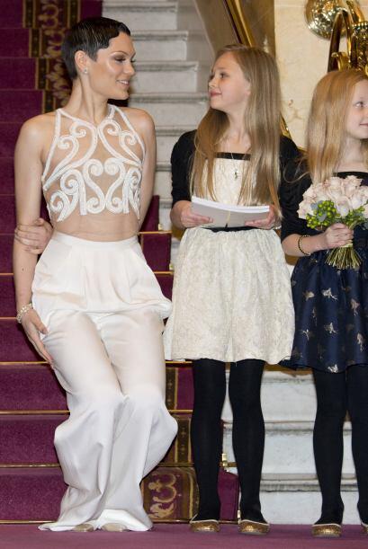 Aunque lució muy bien, tenemos que reconocer que ese vestido no era el m...