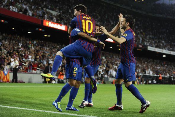 El cuadro vasco no fue rival y Messi hizo tres goles, así como re...