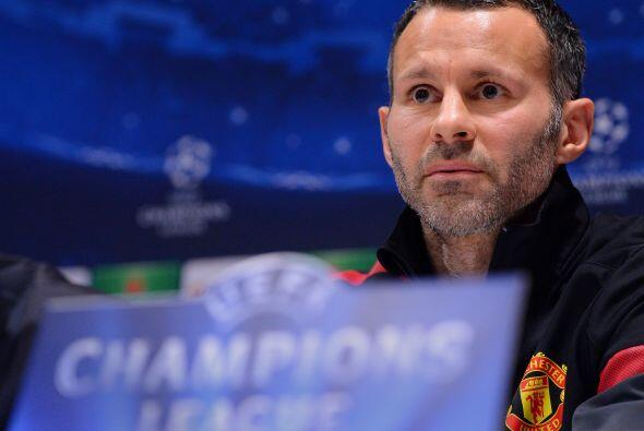 Ryan Giggs: Un peso pesado y también ícono del United es e...
