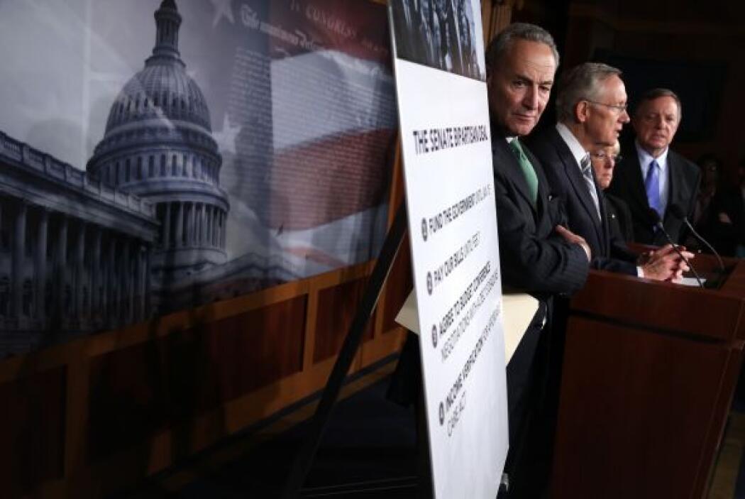Los demócratas lograron un acuerdo que no cambió en nada la ley de salud...