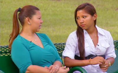 La historia de una madre y una hija después de pasar la frontera