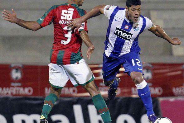 El hombre de ataque del Oporto fue la figura de su equipo ante Mar&iacut...