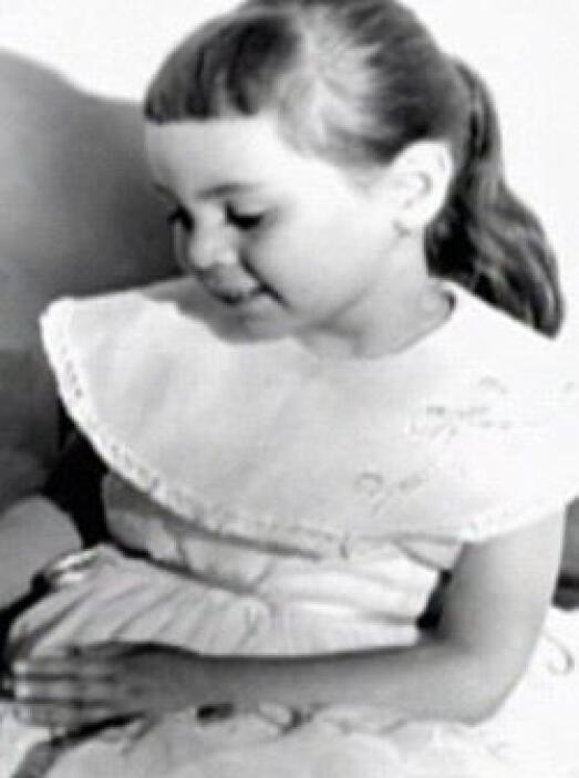 Y aunque tiene muy bonitos recuerdos de su infancia...