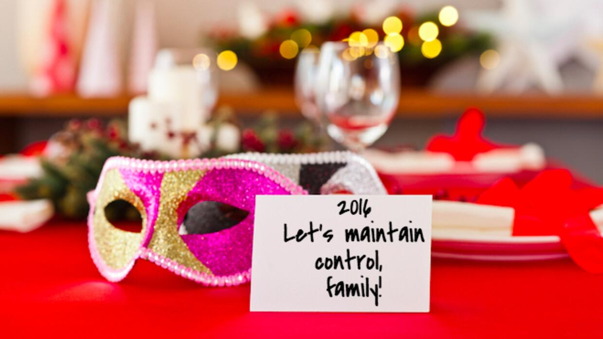 Let's maintain control, familiy!