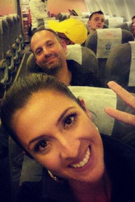 Maity de regreso a Río de Janeiro. ¡Hasta la próxima Sao Paulo!