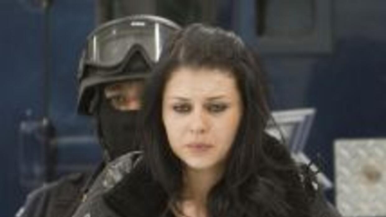 La modelo colombiana Juliana Sosa Toro, detenida en México en enero junt...