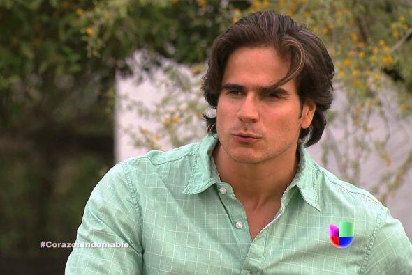 """Daniel Arenas es """"Octavio"""" en """"Corazón Indomable&q..."""