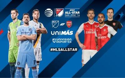 MLS All-Star Game tune-in vs Arsenal DL