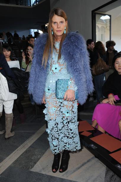 Fue terrible el crimen que cometió Anna Dello Russo al completar la vest...