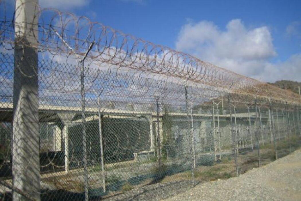 El Campamento Delta ahora alberga oficinas de los oficiales de la prisió...