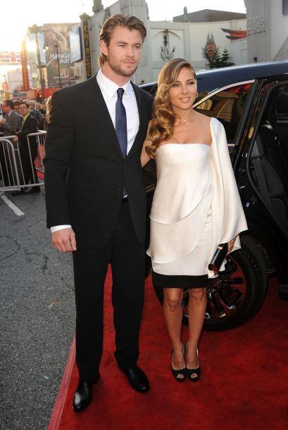 Elsa Pataky y Chris HemsworthEl guapo intérprete de 'Thor' y la actriz e...
