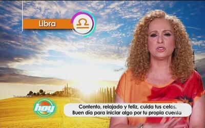 Mizada Libra 19 de octubre de 2016