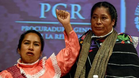 """""""Hoy nos chingamos al Estado"""", indígenas mexicanas responden a la discul..."""