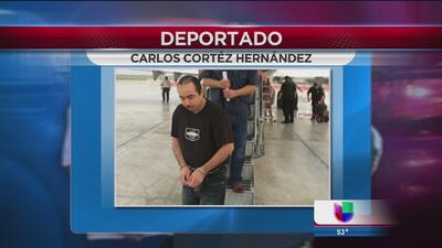 Deportan a mexicano por asesinato