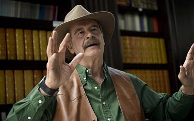 Vicente Fox asegura que pedirle perdón a Trump es una estrategia, no una...