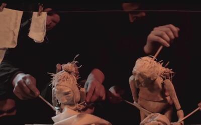 'El chiflón, el silencio del carbón', la obra de marionetas sobre los mi...