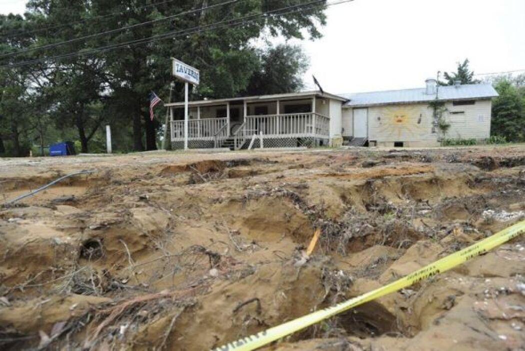En la jornada del miércoles los estados más afectados por las inundacion...