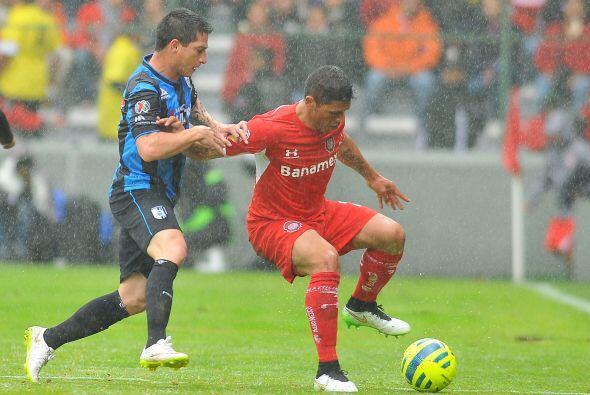Richard Ortiz arribó a la Liga MX desde el 2013 con el Toluca y se ha ad...