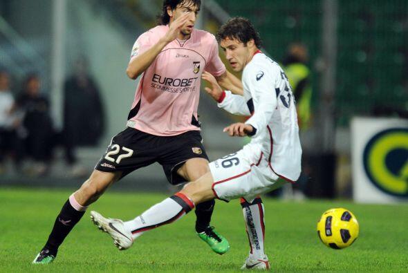 En el encuentro que cerró la jornada, Palermo y Genoa intentaban...