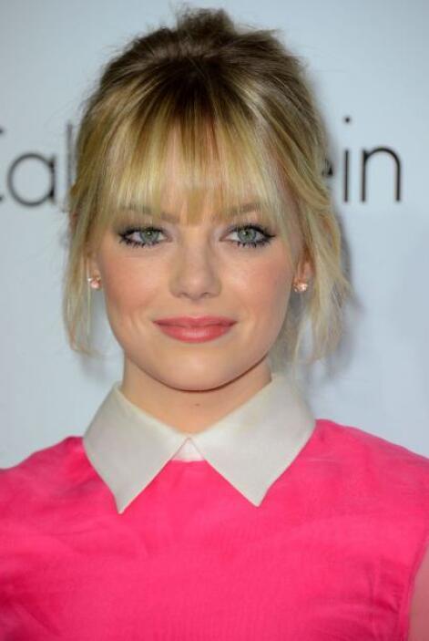 Emma Stone ha capturado a todos con el hermoso tono azul. Además, de que...