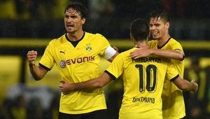 Dortmund y Athletic avanzan en Liga Europa