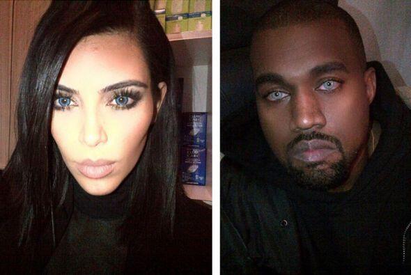 ¡Qué susto! Kim y Kanye nos sorprendieron con otra de sus e...