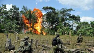 Siete soldados murieron y otros cinco resultaron heridos tras un enfrent...