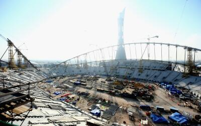 Construcción del Estadio Internacional Jalifa