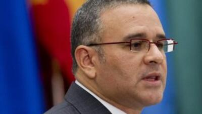 El presidente de El Salvador, Mauricio Funes, reestructuró su gabinete e...