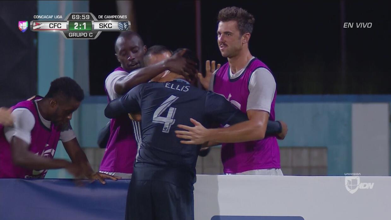 Sporting KC rescató un punto ante el Central FC en la Liga de Campeones