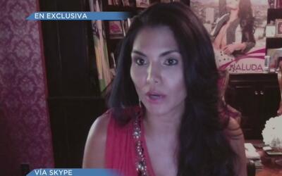 Joyce Giraud cree que deben devolverle la corona a Kristhielee Caride