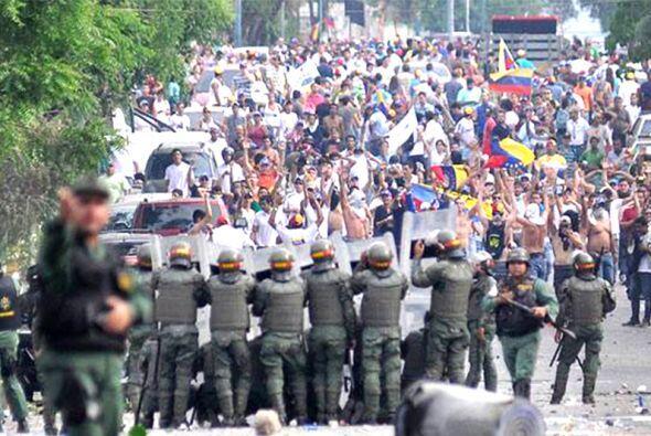 La marcha de la oposición de este miércoles recorrerá parte del centro y...