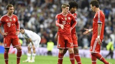Al Bayern le faltó suerte ante el Madrid.