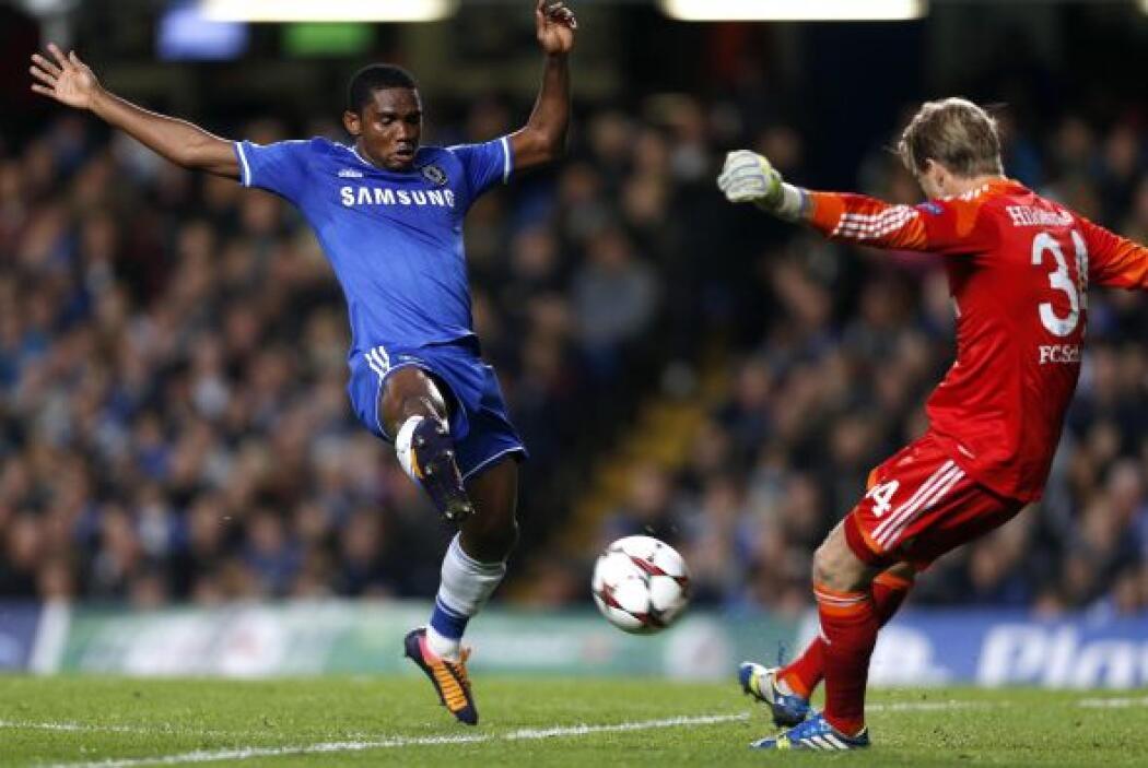 Los ingleses dominaron el partido y vieron el mejor juego de Samuel Eto'...
