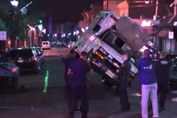 El accidente sucedió cuando un vehículo todo terreno no vi...