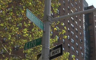 En estos edificios vivía una de las supuestas cabecillas de esta red de...