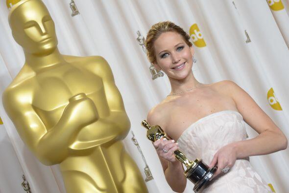 ¡Jennifer Lawrence sí que vale oro!