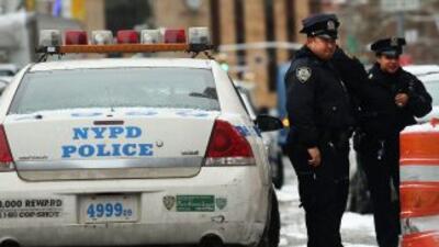 Agentes del Departamento de Policia de Nueva York (NYPD).